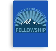 Children of the Mountain Fellowship Canvas Print