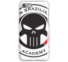 Livingston Brazilian Jiu Jitsu Academy Badge iPhone Case/Skin
