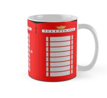 UK telephone box Mug