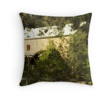 Mill amongst the trees Throw Pillow