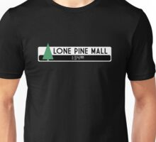 Lone Pine Mall Logo (Back to the Future) Unisex T-Shirt