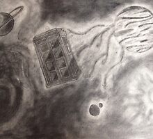 Tardis in space by ljoseph