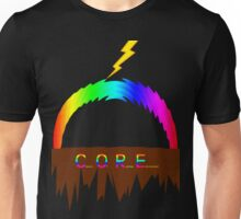 C O R E (Colours Of Rainbow Electrocuted) Unisex T-Shirt