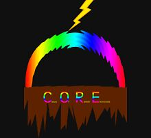 C O R E (Colours Of Rainbow Electrocuted) Unisex T-Shirt