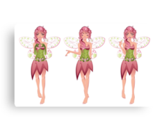 Floral Fairy Canvas Print