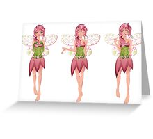 Floral Fairy Greeting Card