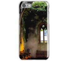 Ruins in the heart of the City iPhone Case/Skin