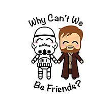 Stormtrooper & Obi-Wan Kenobi Photographic Print