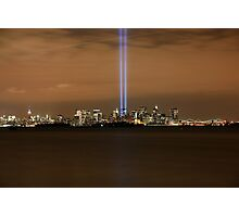 9/11 Memorial  New York Photographic Print