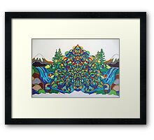 Mountain Energy Framed Print