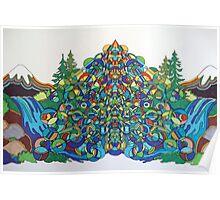 Mountain Energy Poster
