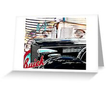Straight Eight Greeting Card