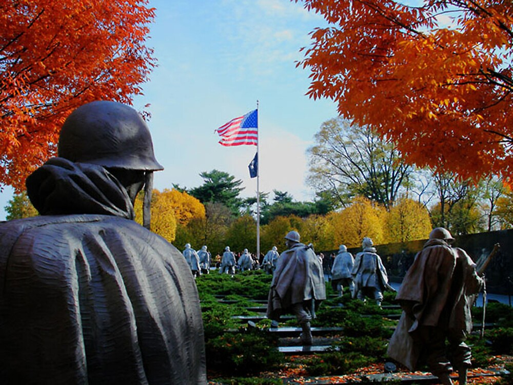 Korean War Memorial by GPMPhotography