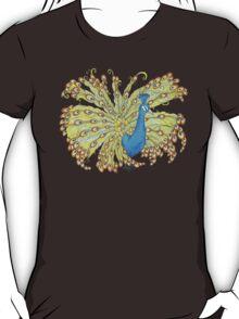Whimsical Peacock T-Shirt