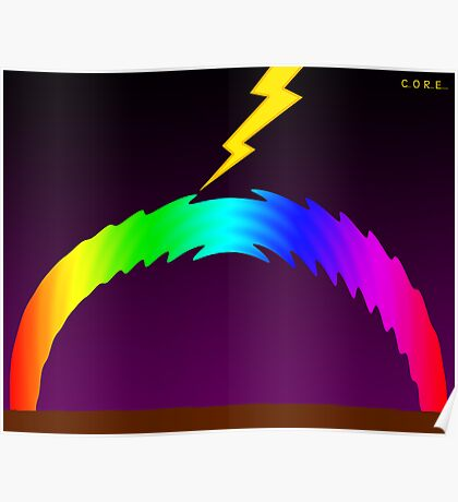 C O R E (Colours Of Rainbow Electrocuted) Poster