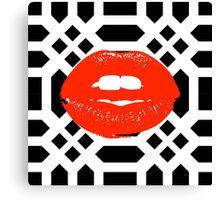 Kisses Down Low  Canvas Print