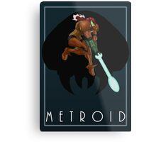 Metroid - Samus Metal Print