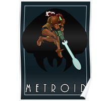 Metroid - Samus Poster