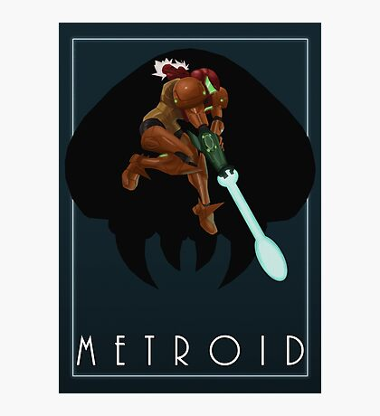 Metroid - Samus Photographic Print