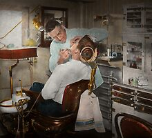 Dentist - The dental examination - 1943 by Mike  Savad
