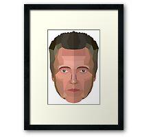 Christopher Walken Framed Print