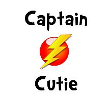 Captain Cutie Photographic Print