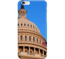 U. S. Capitol Dome and Statue of Freedom > iPhone Case/Skin