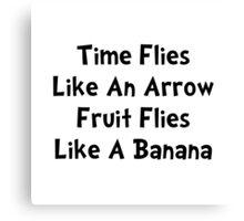 Fruit Flies Canvas Print