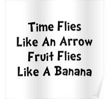 Fruit Flies Poster