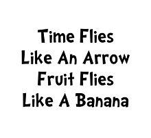 Fruit Flies Photographic Print