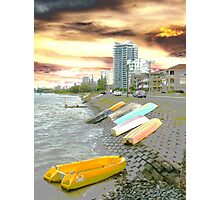 Broadwater Boats Photographic Print