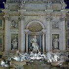 Fontana di Trevi by kuntaldaftary