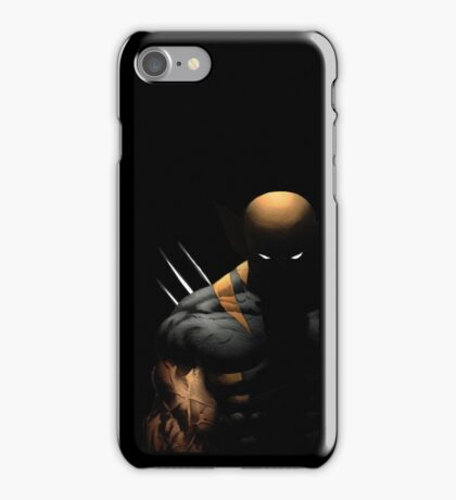 dark wolverine iPhone Case/Skin