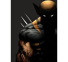 dark wolverine Photographic Print