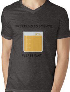 Preparing to Science Mens V-Neck T-Shirt
