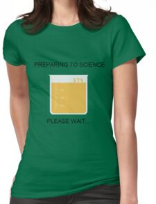 Preparing to Science Womens Fitted T-Shirt