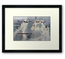 Reinforced Abstraction Framed Print