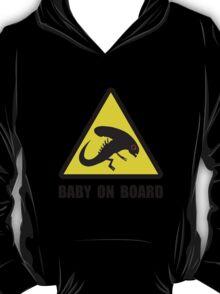 Alien Baby On Board T-Shirt