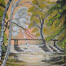 landscape oil painting by coolart