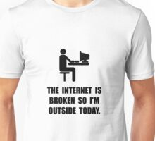 Broken Internet Outside Unisex T-Shirt