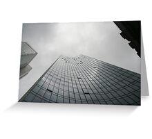 Skyper Tower, Frankfurt Greeting Card