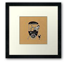 "Ice Cream ""Paradise"" Framed Print"