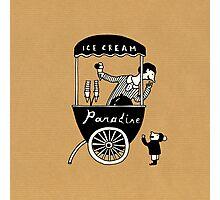 "Ice Cream ""Paradise"" Photographic Print"