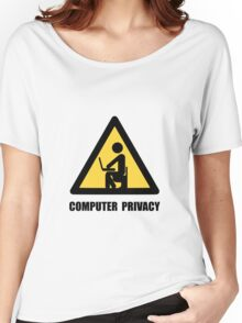 Computer Privacy Women's Relaxed Fit T-Shirt