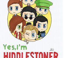 I'm Hiddlestoner by YuriSu