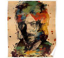 Watercolor Daryl Poster