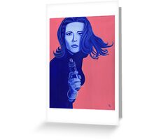 Emma Peel Greeting Card