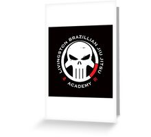 Livingston Brazilian Jiu Jitsu Academy Greeting Card