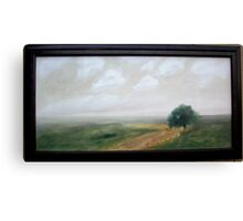 Back Country Road Canvas Print