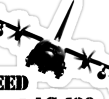 Lockheed AC-130 Sticker